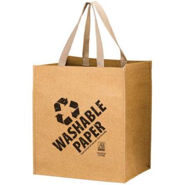 TYPHOON - WASHABLE KRAFT PAPER GROCERY TOTE BAG