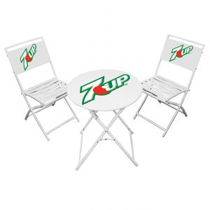 This table and chair combo is sure to keep you comfortable at any event.