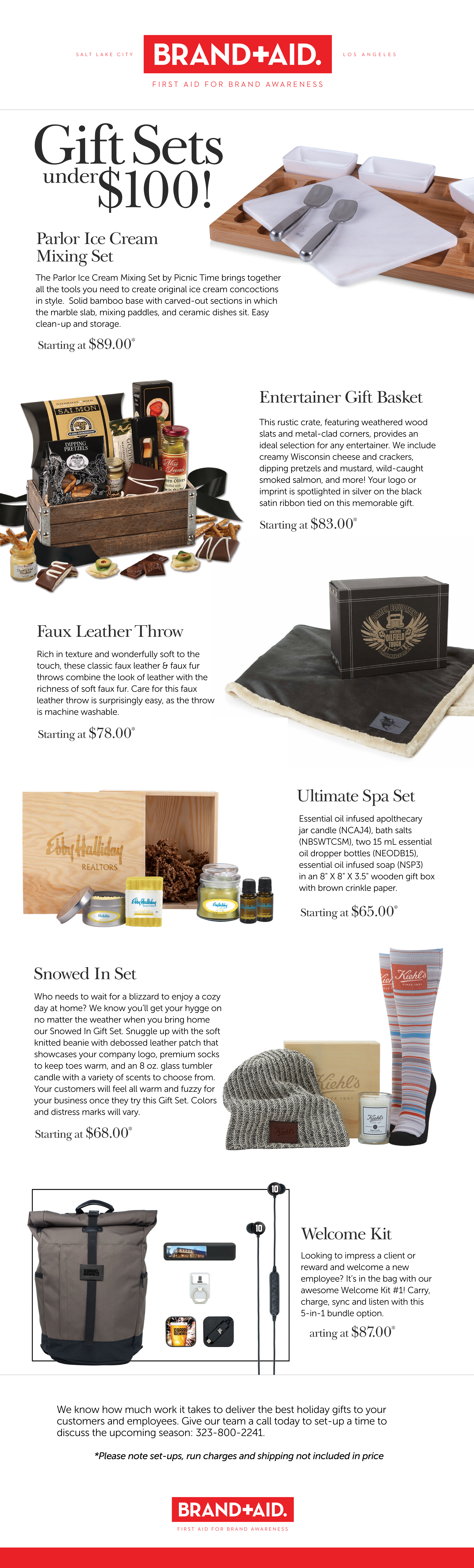 The Best Branded Gifts Under $100