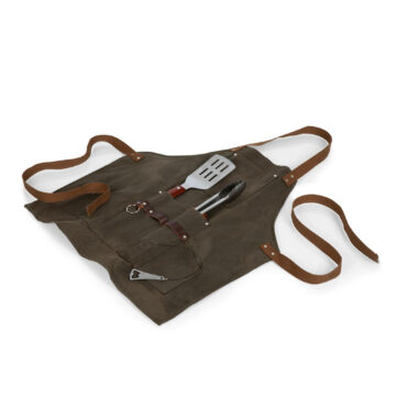 BBQ Apron With Tools & Bottle Opener