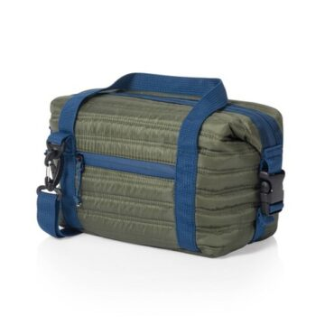 MIDDAY QUILTED WASHABLE INSULATED LUNCH BAG