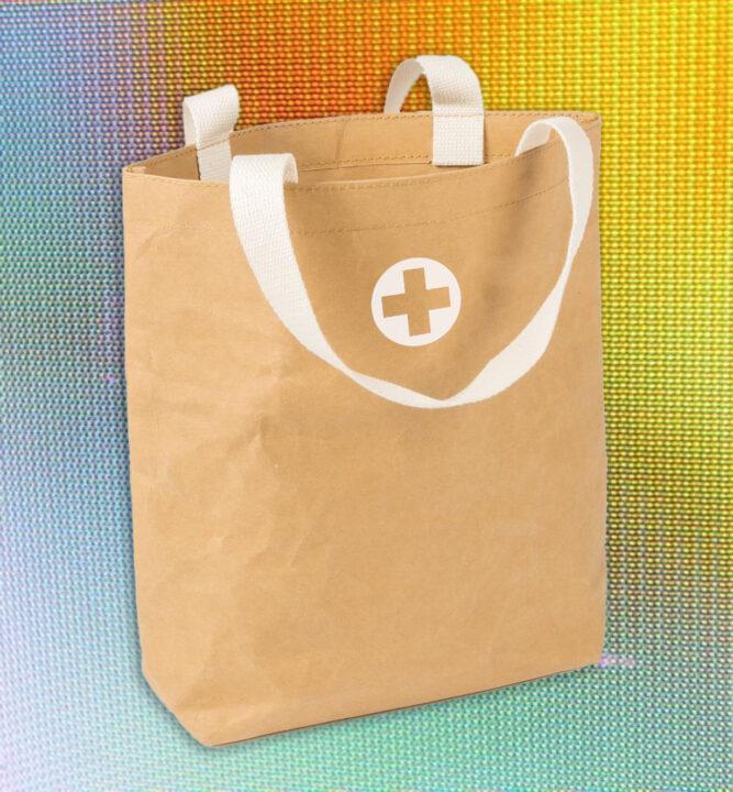 Paper Bag Brand Aid Header