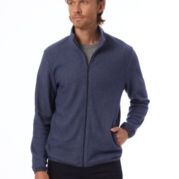 Alternative Apparel Alternative Eco-Teddy Full-Zip Jacket