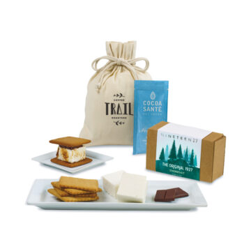 Cozy S'mores & Cocoa Gift Bag